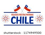 fiestas patrias   independence... | Shutterstock .eps vector #1174949500