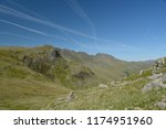 path to pike of blisco beneath... | Shutterstock . vector #1174951960