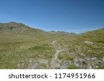 path to pike of blisco beneath... | Shutterstock . vector #1174951966