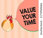 text sign showing value your... | Shutterstock . vector #1174960666