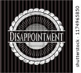 disappointment silver badge or...   Shutterstock .eps vector #1174965850