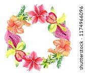 frames for congratulation with ... | Shutterstock . vector #1174966096