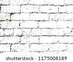 distressed overlay texture of... | Shutterstock .eps vector #1175008189
