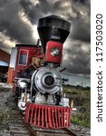 Little Red Locomotive Engine