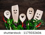 Kitchen Wooden Spoons With...