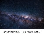 long exposure shot of milky way ... | Shutterstock . vector #1175064253