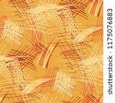 various pen hatches. seamless... | Shutterstock .eps vector #1175076883