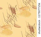 various hatches. seamless... | Shutterstock .eps vector #1175077156