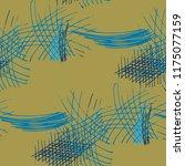 various hatches. seamless... | Shutterstock .eps vector #1175077159