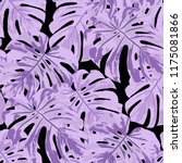tropical pattern. seamless... | Shutterstock .eps vector #1175081866