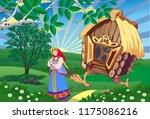 fairy landscape the princess...   Shutterstock .eps vector #1175086216