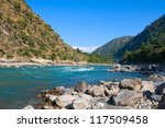 Ganges River In Himalayas...