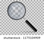 realistic magnifying glass on... | Shutterstock .eps vector #1175104909