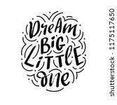 hand drawn lettering phrase... | Shutterstock .eps vector #1175117650