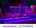 bar and tequila shots | Shutterstock . vector #1175138353