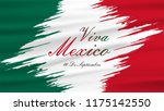 september  16 independence of... | Shutterstock .eps vector #1175142550