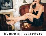 fashion details of elegant...   Shutterstock . vector #1175149153