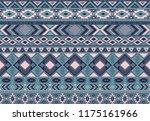 indian pattern tribal ethnic...   Shutterstock .eps vector #1175161966