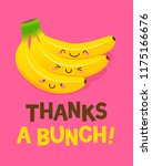 cute bunch of bananas cartoon... | Shutterstock .eps vector #1175166676