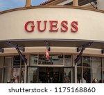 san clemente  ca   usa   09 08...   Shutterstock . vector #1175168860