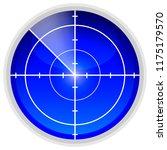 echolocation radar sensor | Shutterstock .eps vector #1175179570
