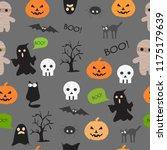 vector seamless pattern for... | Shutterstock .eps vector #1175179639