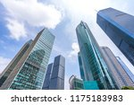 modern office building with... | Shutterstock . vector #1175183983