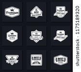 vintage retro vector logo for...   Shutterstock .eps vector #1175189320