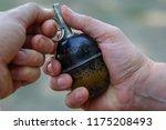 Antipersonnel Grenade In Men's...