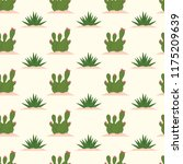 cute cool seamless pattern... | Shutterstock .eps vector #1175209639