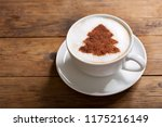 christmas drink. cup of... | Shutterstock . vector #1175216149