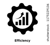 efficiency icon vector isolated ... | Shutterstock .eps vector #1175229136