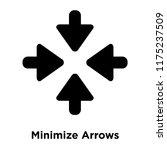 minimize arrows icon vector...