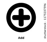 add icon vector isolated on...