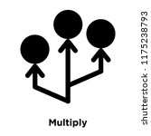 multiply icon vector isolated...