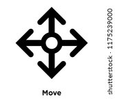 move icon vector isolated on...