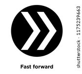 fast forward icon vector...