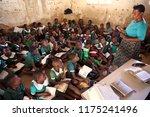 nkhotakota  malawi   june 14 ...   Shutterstock . vector #1175241496