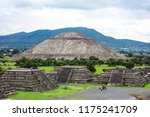 teotihuacan pyramids mexico.... | Shutterstock . vector #1175241709