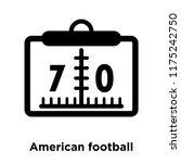 american football scores... | Shutterstock .eps vector #1175242750