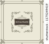 ornament design invitation... | Shutterstock . vector #1175249419