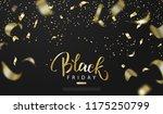 black friday sale background... | Shutterstock .eps vector #1175250799