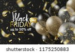 black friday sale background... | Shutterstock .eps vector #1175250883