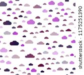 dark purple vector seamless... | Shutterstock .eps vector #1175251390