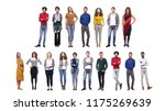 group of people | Shutterstock . vector #1175269639