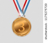 award medals isolated on... | Shutterstock .eps vector #1175275720