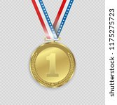 award medals isolated on... | Shutterstock .eps vector #1175275723