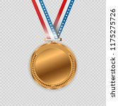 award medals isolated on... | Shutterstock .eps vector #1175275726