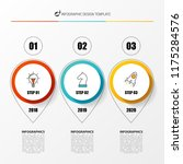 infographic design template.... | Shutterstock .eps vector #1175284576