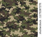camouflage texture seamless... | Shutterstock .eps vector #1175287270